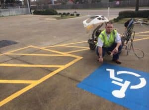 parking lot striping San Antonio TX