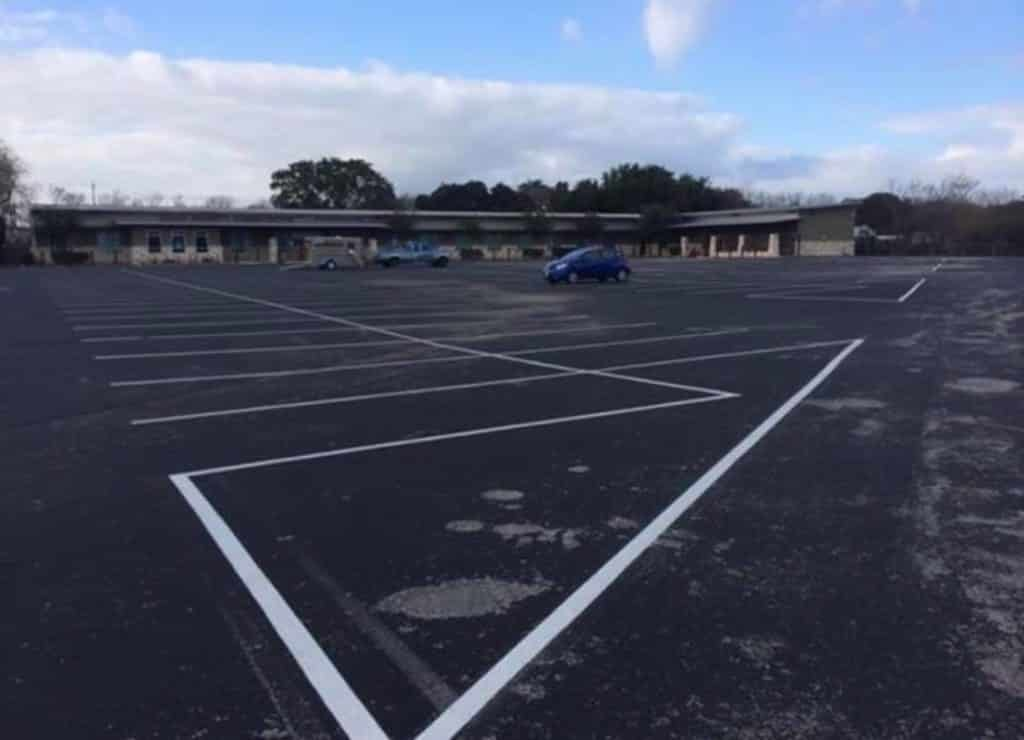 parking lot lines New Braunfels TX
